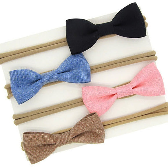 The Shannon 4 pack Bow Headband Set