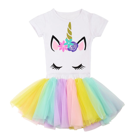 The Jillian Unicorn Tutu Set