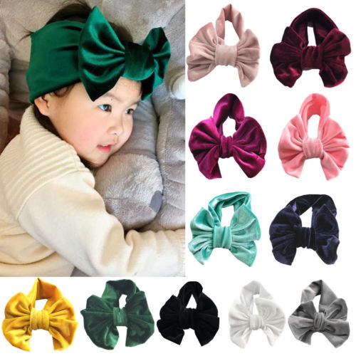 The Victoria Velvet Bow Headband