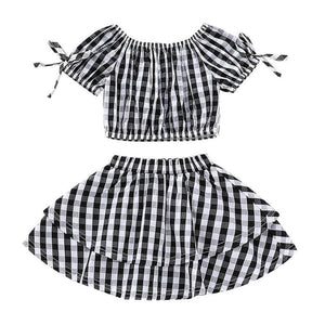 The Abby Plaid Set