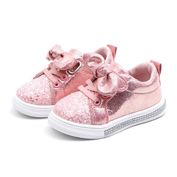 The Kendra Glitter Sneakers