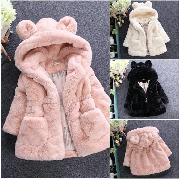 Bear Faux Fur Coat