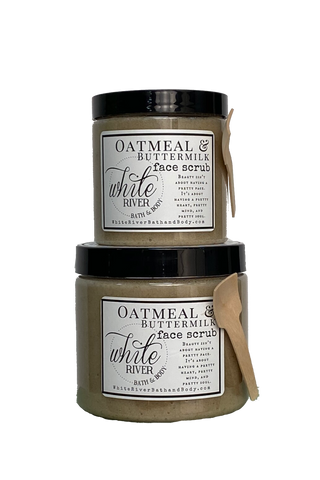 Oatmeal & Buttermilk Face Scrub