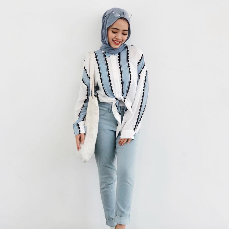 Millie Stripe Shirt - Huzsy