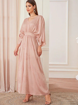 Myra Batwing Maxi Dress - Huzsy