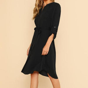 Rylee Shirt Dress - Huzsy
