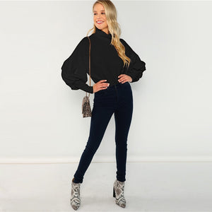 Andi Turtleneck Jumper - Huzsy