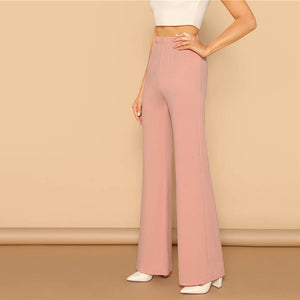 Evelin High Waist Pants - Huzsy