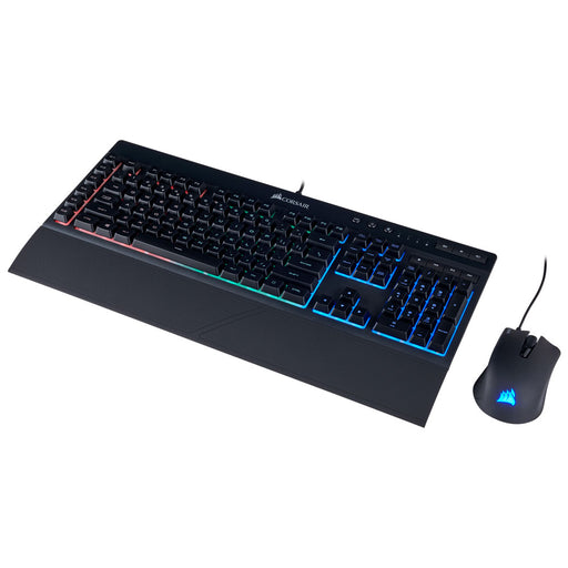 Kit 2 En 1 Corsair K55 Rgb + HARPOON Español