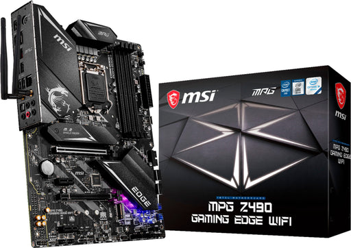 MB MSI Z490 GAMING EDGE WIFI ATX MPG SOCKET 1200 INTEL Z490 HDMI 128GB DDR4