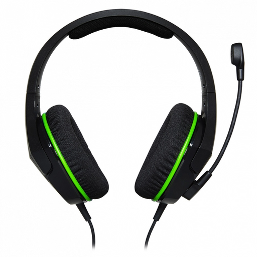 DIADEMA KINGSTON HX CLOUD STINGER CORE XBOX ONE NEGRO/VERDE C/MIC 3.5MM HX-HSCSCX-BK