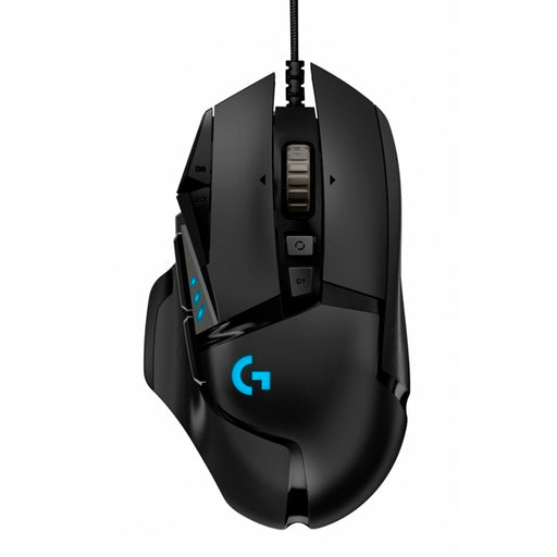 MOUSE LOGITECH G502 HERO GAMING NEGRO USB 16000 DPI 910-005550