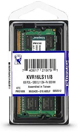 Memoria RAM Kingston SODDR3 KVR 2GB 1333 MHz