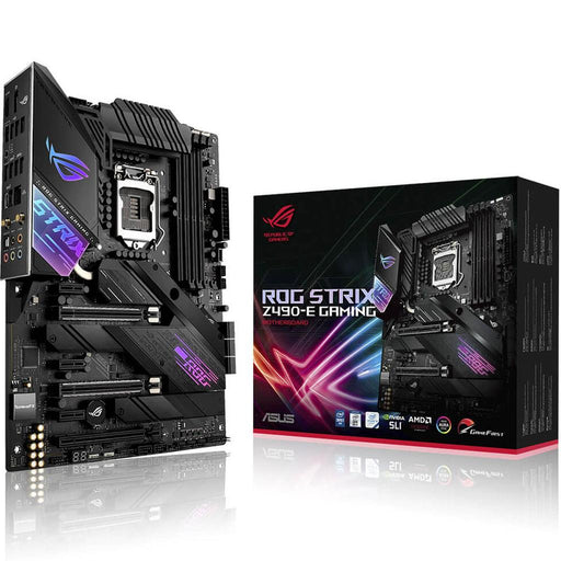 MOTHERBOARD ASUS ROG STRIX Z490-E GAMING SOC 1200 DDR4 HDMI DP ROG STRIX Z490-E