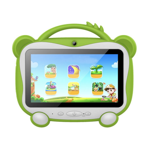 "TABLETA STYLOS TARIS KIDS VERDE 16GB/1GB RAM/QUADCORE/BLUETOOTH/CAM FRONTAL Y TRASERA ANDROID 10 (GO EDITION)7"" STTTKI2G"
