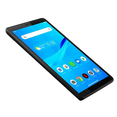 "TABLETA LENOVO M7 QUADCORE 1.3GHZ 7"" 1GB 8GB 2/2MP WIFI2.4GHZ/BTH4.2/MICROUSB/MICROSD/3.5MM/ANDROID9/NEGRO ZA550249MX"