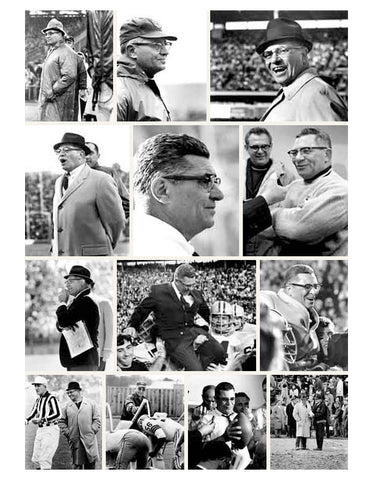Vince Lombardi the coach photo collection of his coaching years