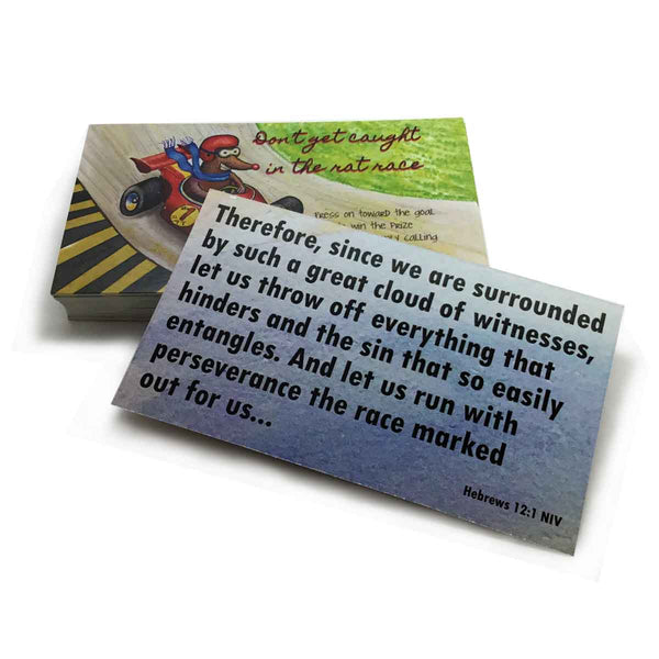 Rat Race Inspirational Pocket Card