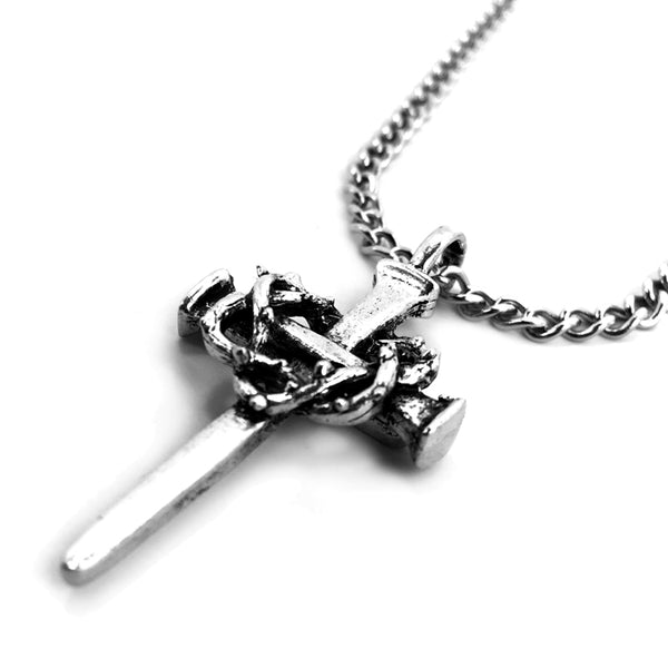 Nail Crown Cross On Chain