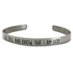 Psalm 4610 Be Still Bracelet