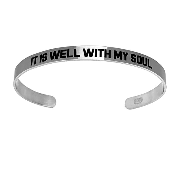 It Is Well With My Soul Bracelet