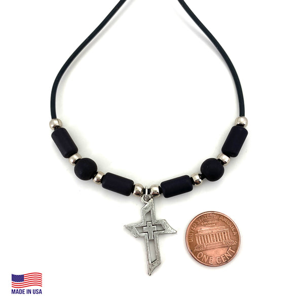 Men Of Faith Cross Necklace