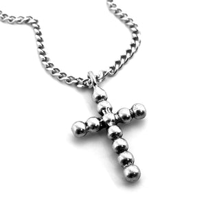 Ball Cross Necklace
