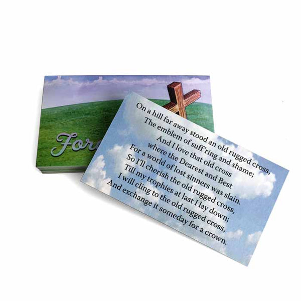 Forgiven Inspirational Pocket Card
