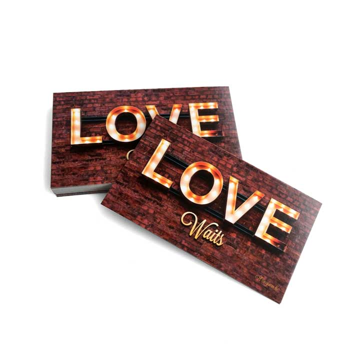 Love Waits Inspirational Pocket Card