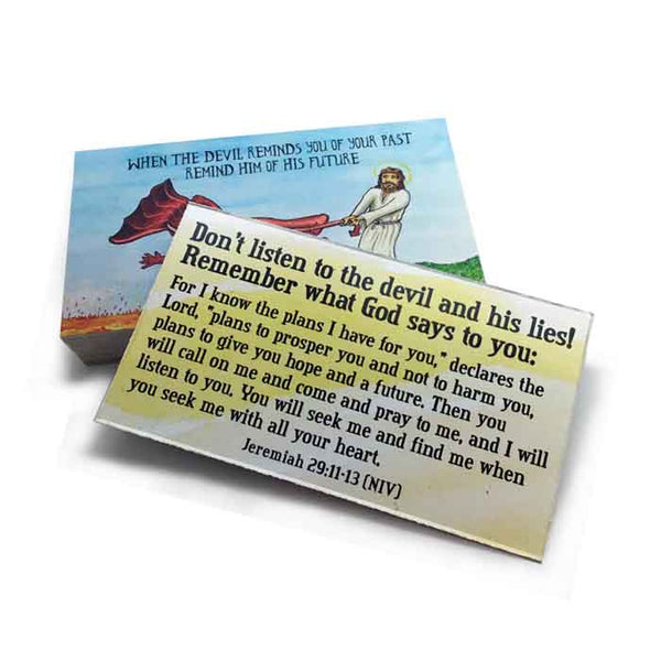 Lake Of Fire Inspirational Pocket Card