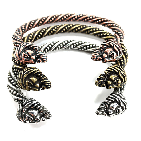 Vikings Lion Bangle Copper