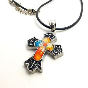 Millifiori Flair Cross Choker