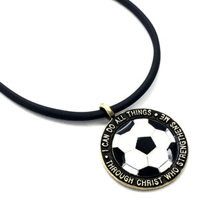Soccer Medal in Brass Made In The USA