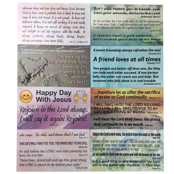 Praise Assortment Pack of Inspirational Pocket Cards