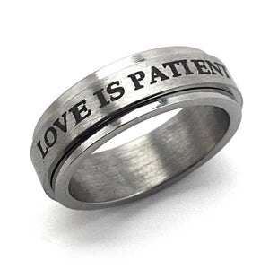 Love Is Patient Ring