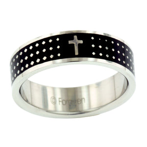 Cross Dot Ring