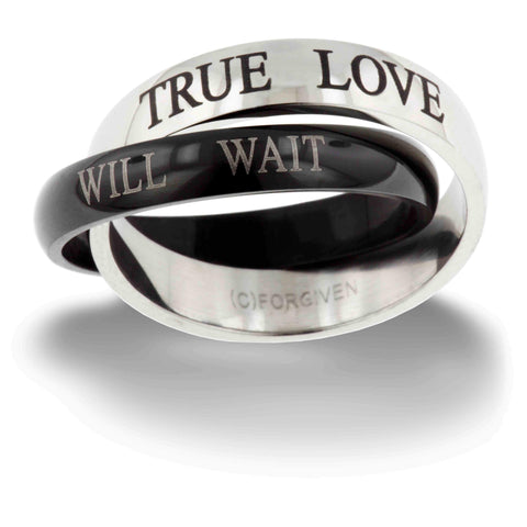 True Love Will Wait ring