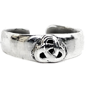 Trinity Knot Band Toe Ring