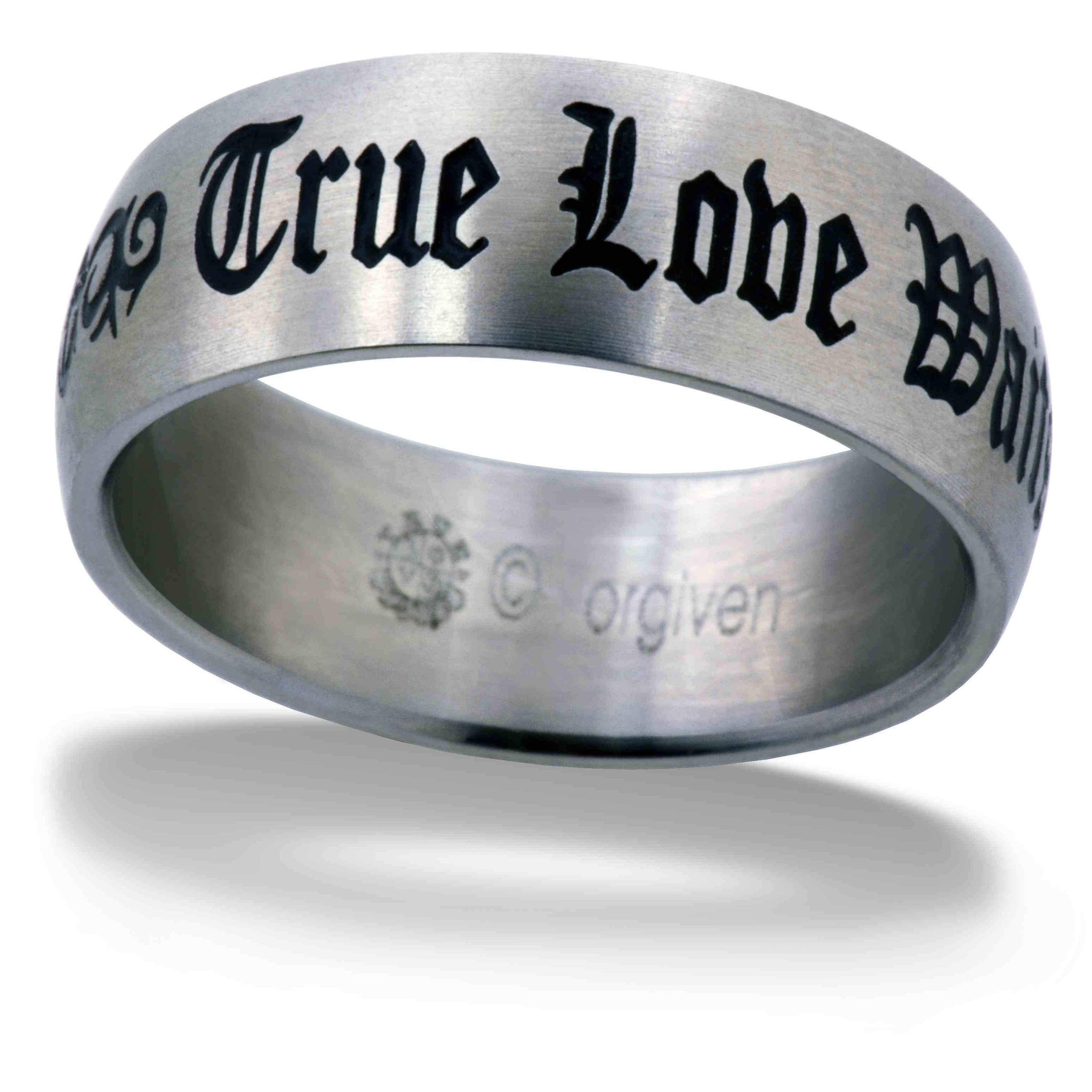 Gothic True Love Waits Ring