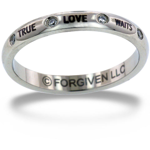 True Love Waits Stackable Ring