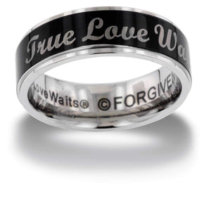 TRUE LOVE WAITS Band Ring