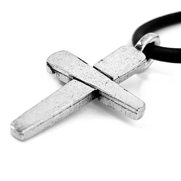 Forgiven Cross Necklace Silver