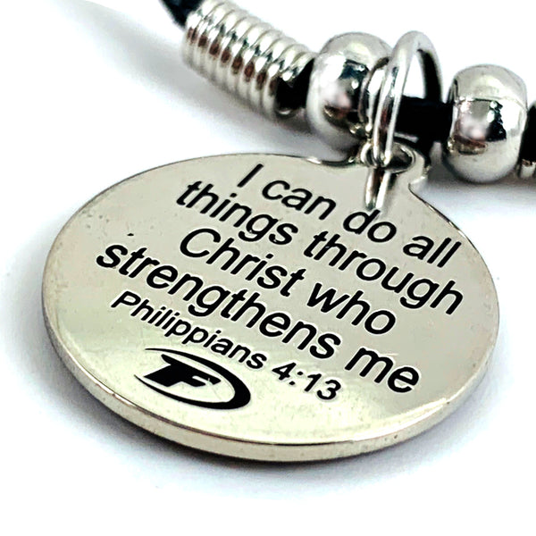 Baseball Phil 4:13 Mood Necklace