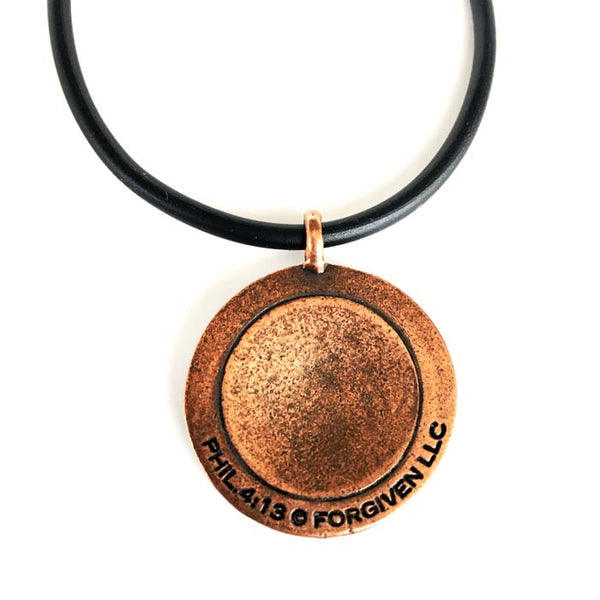 Basketball Antique Copper Necklace