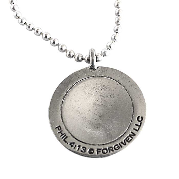 Golf Necklace Phil 413 Antique Silver
