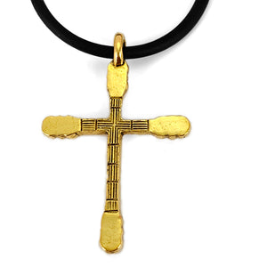 Guitar Neck Cross Gold