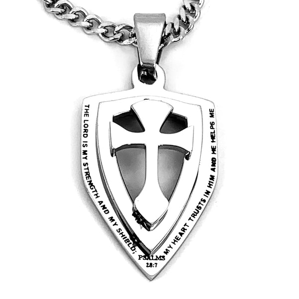 Cross Strength Shield On Chain