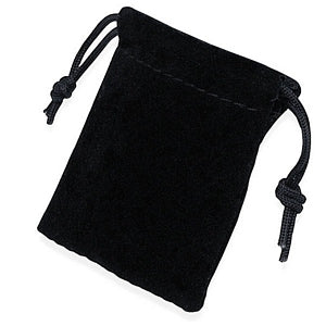 BLACK Velvet Gift Pouch Only $1.99