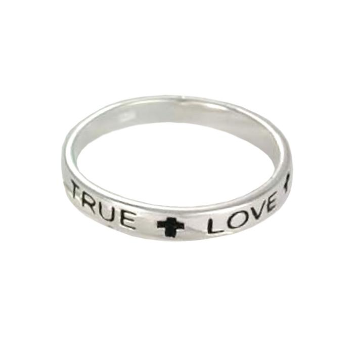 Sterling Silver True Love Waits ring
