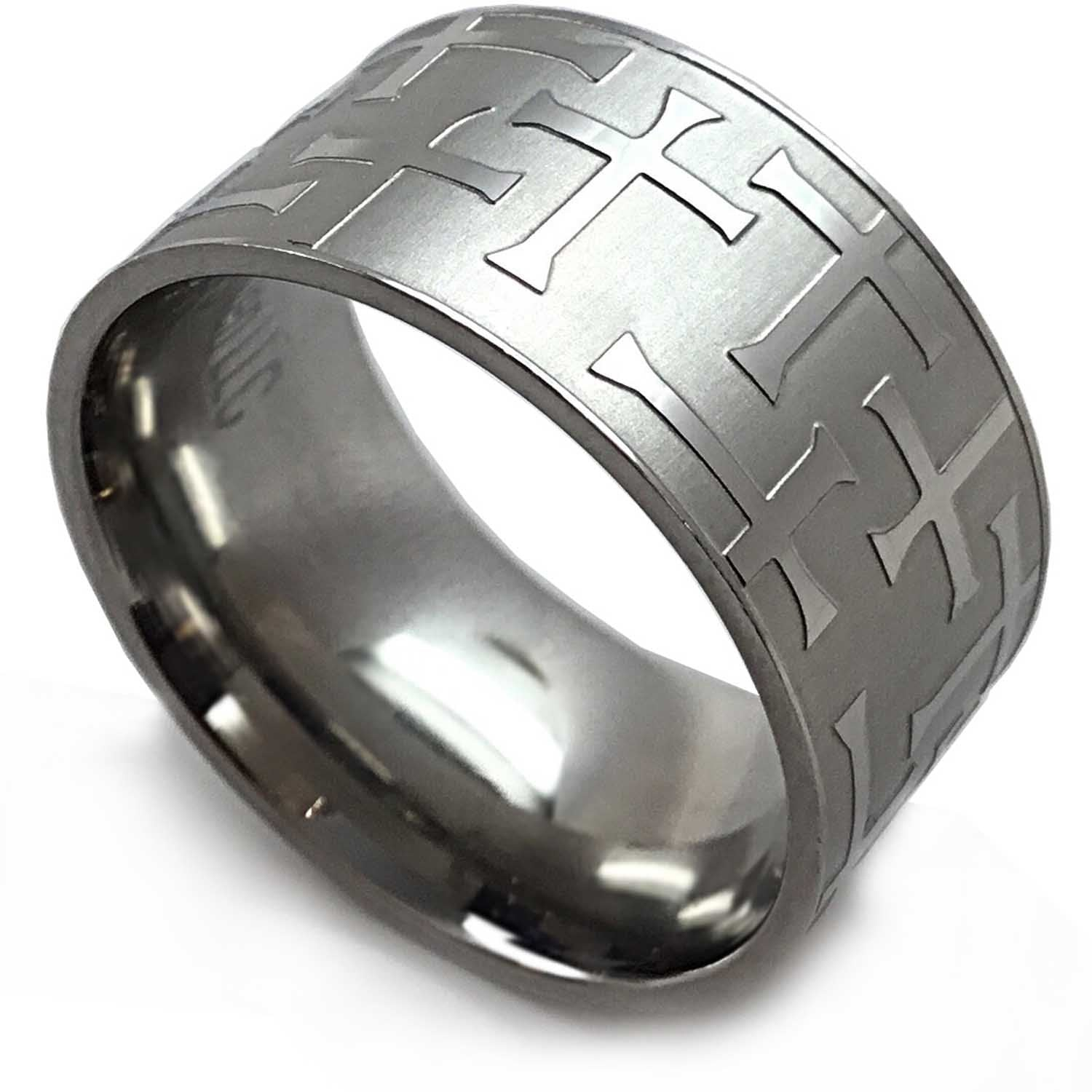 Maze Cross Ring